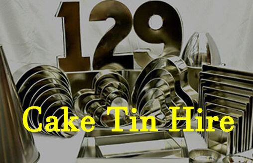Cake Tin Hire