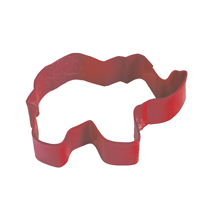 Elephant Cutter 9cm red