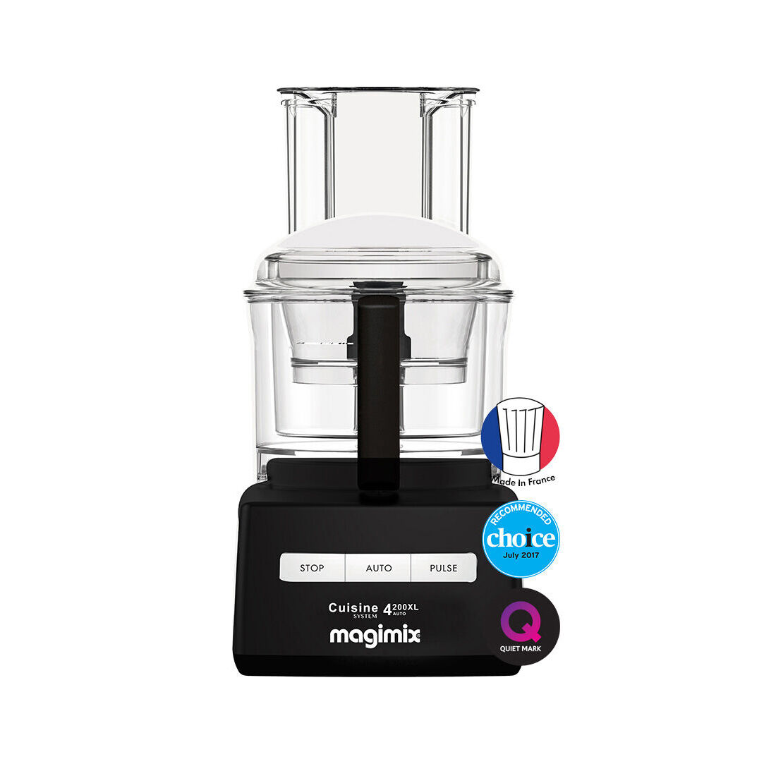 Magimix 4200xl Black WTriple Pusher  950w