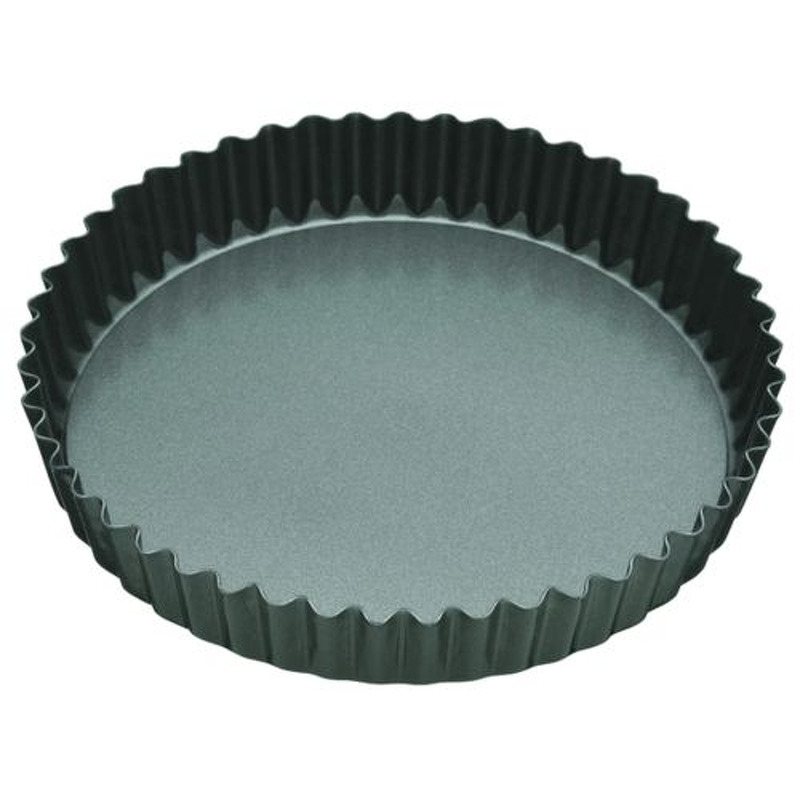 NS FLUTED QUICHE TIN 25CM