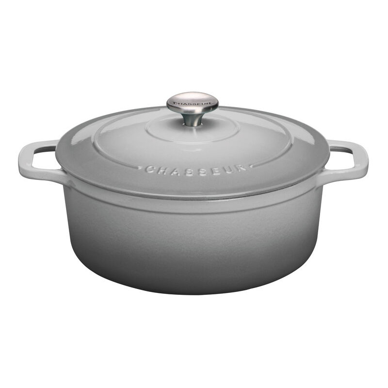 Rnd French Oven 28cm61l CGrey Chasseur