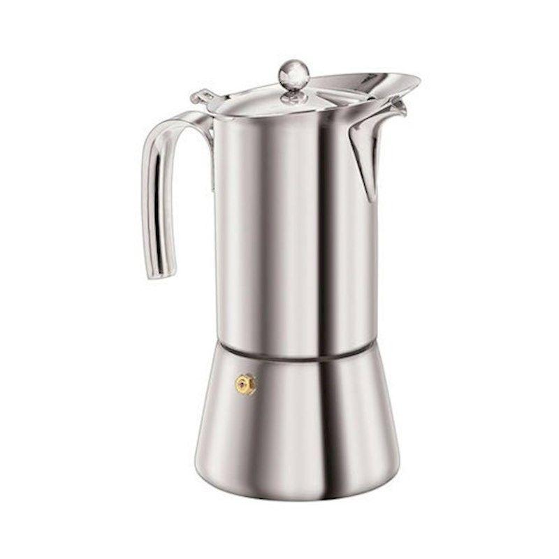 SS Coffee Maker 2 cup Euroline