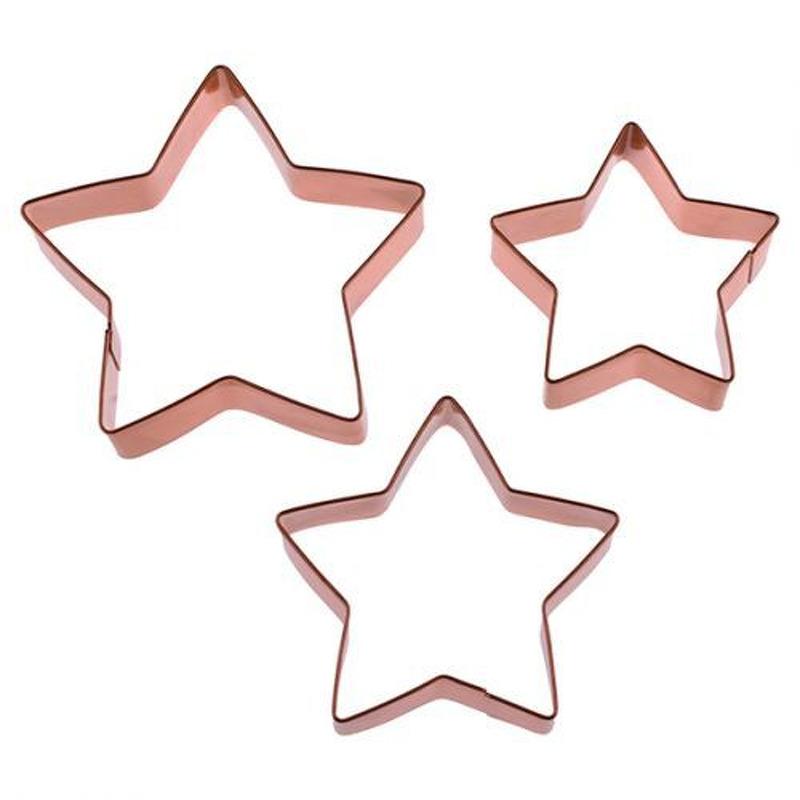 STAR CUTTER SET 3COPP PLATED