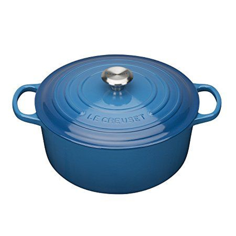 Signt Rnd Cass 26cm MARSEILLE BLUE Le Creuset