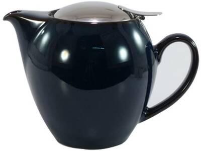 Tea Pot 580ml JEANS BLUE Porcelain